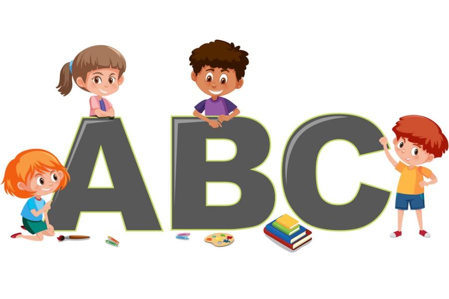 alfabet - angielski dla dzieci
